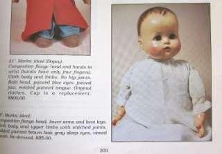 Vintage 1930s Composition Ideal Baby Mama Doll BIG 24 Original Dress