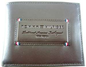Tommy Hilfiger Aspen Brown Leather Security Wallet