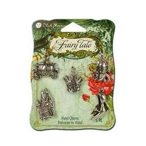 Fairy Tale Antique Silver Fairy Princess Charms Arts, Crafts & Sewing