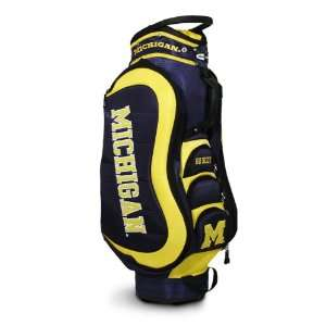 Wolverines Medalist Golf Cart Bag by Team Golf
