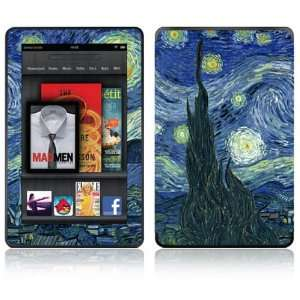 Starry Night Design Decorative Skin Decal Sticker for