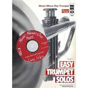 com Music Minus One Trumpet Easy Trumpet Solos Volume 1 (Sheet Music
