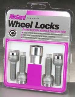 McGard Chrome Lug Bolt Wheel Locks/Ball Seat 23.3mm