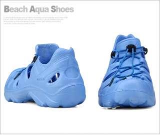 Aqua Summer Blue Casual Mens Shoes Sandals