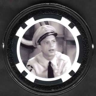 ANDY GRIFFITH SHOW BARNEY FIFE Poker Chip Card Guard