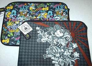 Disney reversible Mickey Laptop sleeve case cover 13