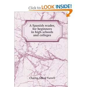 in high schools and colleges, Charles Alfred. Turrell Books