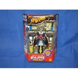 Toy Biz Battle Action Mega Armor Spiderman from 1999  Toys & Games