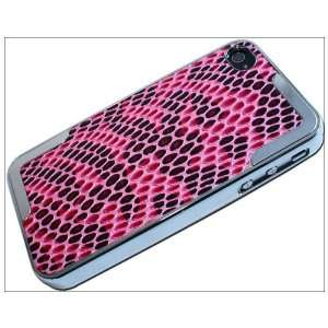 com Luxury Unique Chrome Snake Leather Hard Back Case Cover F iPhone