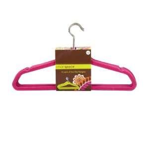 Smart Space Pink 10pk Non Slip Hangers
