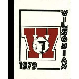 Black & White Reprint) 1979 Yearbook Wilson High School, West Lawn