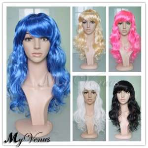 in stock) NWT Super Sexy Womens Long Wavy Synthetic Full Wig 21 Inch