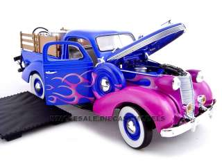 of 1937 Studebaker Hot Rod Pickup die cast car by Unique Replicas