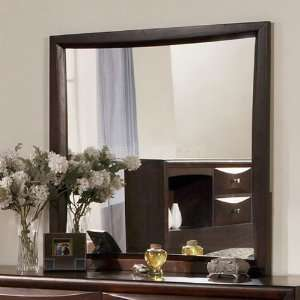 Acme Furniture Manhattan Oversized Mirror (Espresso) 07410