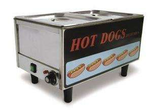 NEW FMA CONCESSION HOT DOG STEAMER COOKER 17133