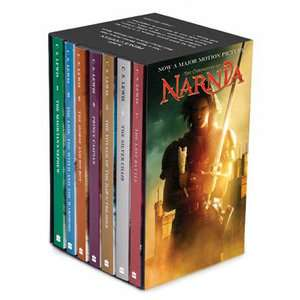 Chronicles of Narnia Movie Tie In Rack Box Set Prince Caspian (Books 1