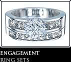 CARAT PRINCESS DIAMOND ENGAGEMENT RING 18K WHITE GOLD