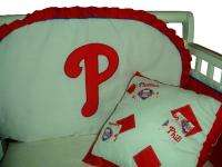 Baby Nursery Crib Bedding Set w/Philadelphia Phillies