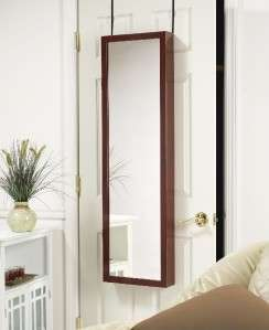MIRROR JEWELRY ARMOIRE ORGANIZER OVER DOOR OR WALL HANG CHOICE OF 6