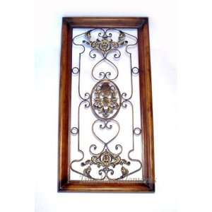 set of 2 wrought iron wall decor hook. Black Bedroom Furniture Sets. Home Design Ideas