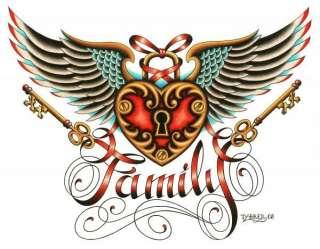 Tyler Bredeweg Family Tattoo Gallery Canvas Art NEW