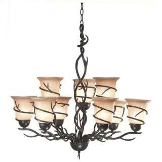 Kenroy Home Twigs 11 Light Chandelier Decor