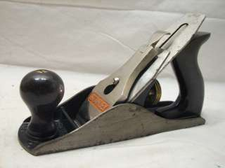 STANLEY NO.4 SMOOTHING PLANE W/BOX WOOD TOOL