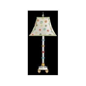 Schonbek 10239 Diamante Multi Color Table Lamp