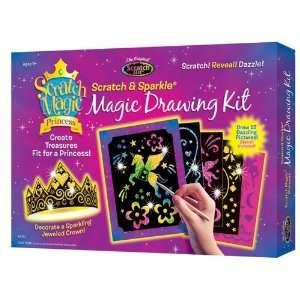 Princess Magic Drawing Kit Boxed Set by Melissa and Doug: Toys & Games