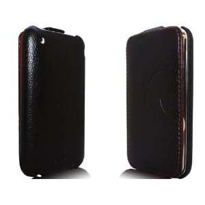 iPhone 3G/3GS Novoskins iStyle Premium Leather Flip Case