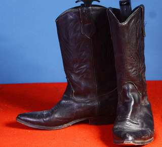 LOT 10 PR MENS/WOMENS COWBOY WESTERN LEATHER BOOTS