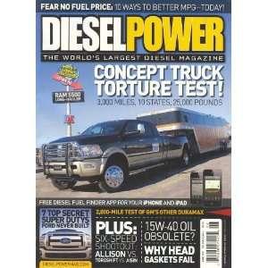 Diesel Power (June 2012, Volume 8 # 6) David Kennedy