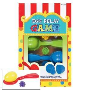 Egg Relay Party Game Toys & Games