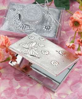 120   Butterfly Design Compact Mirror Favors