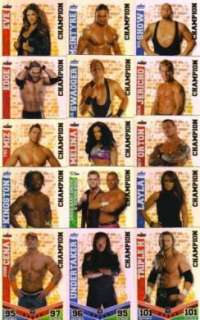 WWE Slam Attax Mayhem Champion Card   You choose which one(s) FREE P&P