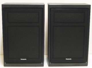 vintage Pair Panasonic SB 191 2 Way Speakers Perfect