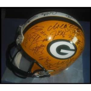 Green Bay Packers 2010/2011 Team Autographed/Hand Signed Helmet