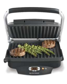 New Hamilton Beach Steak Lovers Electric Indoor Grill   100 Sq. Inches