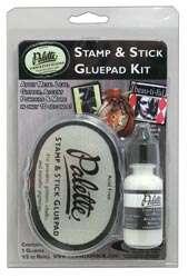 Palette *Stamp & Stick Glue Pad Kit* Pad & Refill