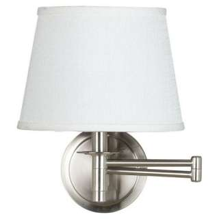 Kenroy Home Sheppard Wall Swing Arm Lamp   20W in