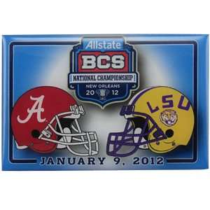Alabama Crimson Tide vs. LSU Tigers 2012 BCS National Championship