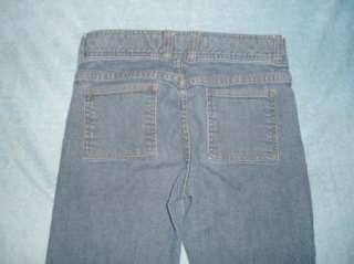 GAP misses 2 stretch HIP HUGGER boot cut jeans 28x30