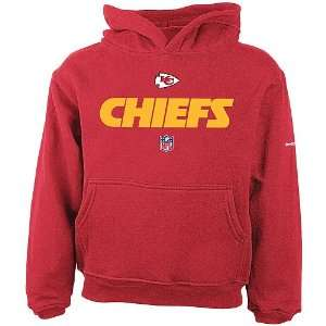 Reebok Kansas City Chiefs Boys (4 7) Lockup Hooded Fleece