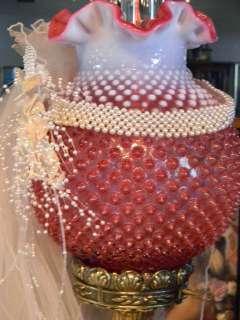 OLD Wedding Bridal Veil~Pearl Tiara~Crown~Great Display