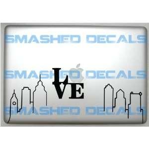 Philadelphia Skyline Vinyl Macbook Apple Laptop Decal