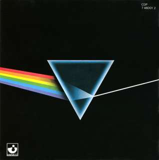 PINK FLOYD   Dark Side of the Moon JAPAN CP35 301721A2 077774600125
