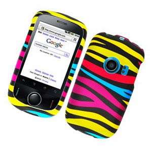 COLORFUL ZEBRA HARD SNAP CASE COVER FOR HUAWEI M835
