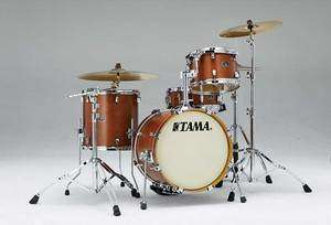 Tama Silverstar 4pc Jazz Drum Set (18 Bass)  Antique Brown Birch