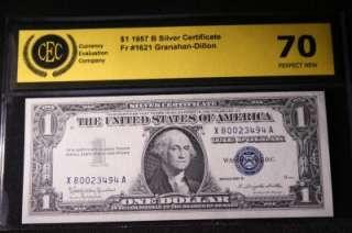 AUTHENTIC 1957 B SILVER CERTIFICATE DOLLAR BILL #494