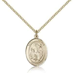 IceCarats Designer Jewelry Gift Gold Filled St. James The Greater